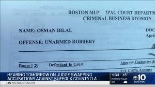 Osman Bilal Robbery complaint