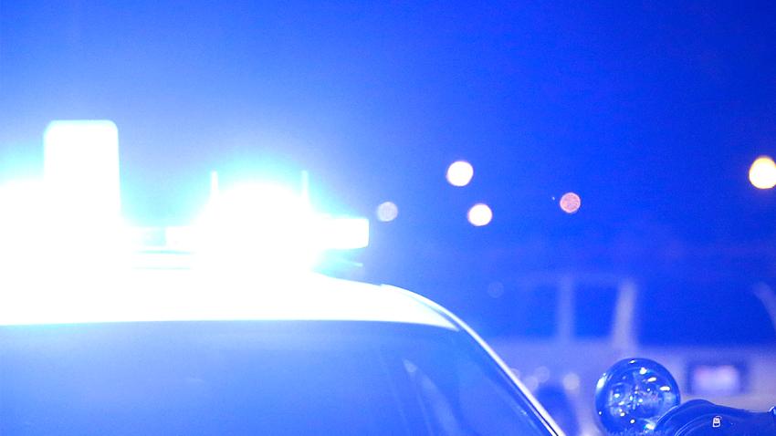 POLICE LIGHTS BLUE