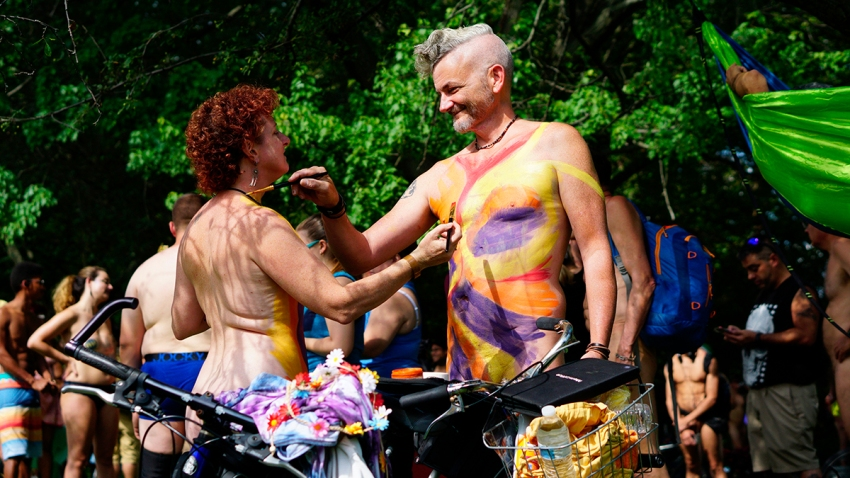 ODD Philly Naked Bike Ride