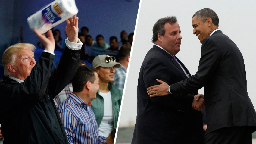 Presidential-Disaster-Politics-Trump-Christie-Obama1