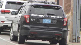 A file photo of a Quincy Police cruiser.
