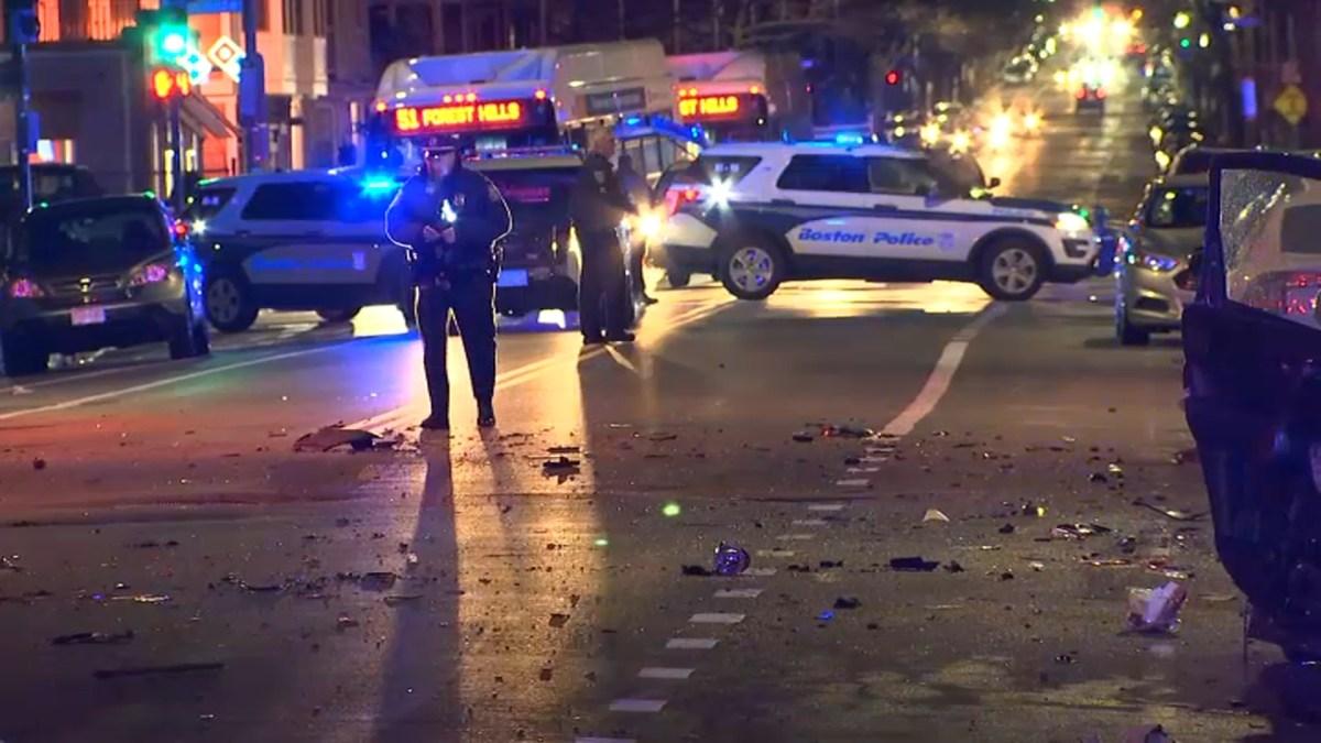 Multiple Vehicles Involved in Roslindale Crash