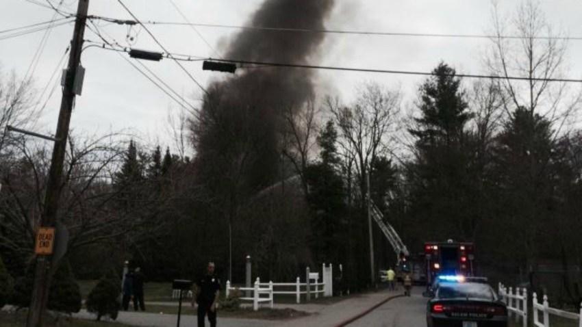 Salem Junk Yard Fire