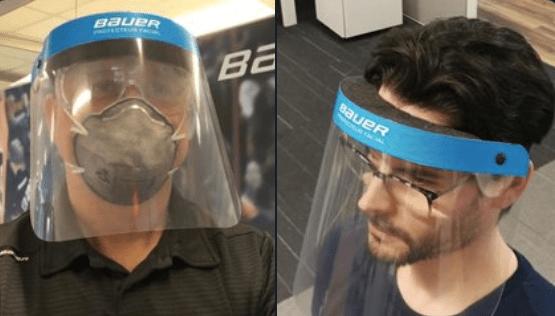 Bauer To Switch From Making Hockey Helmets To Coronavirus Face Shields Nbc Boston