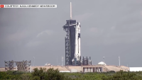 SpaceX Launch With 'The Space Gal'