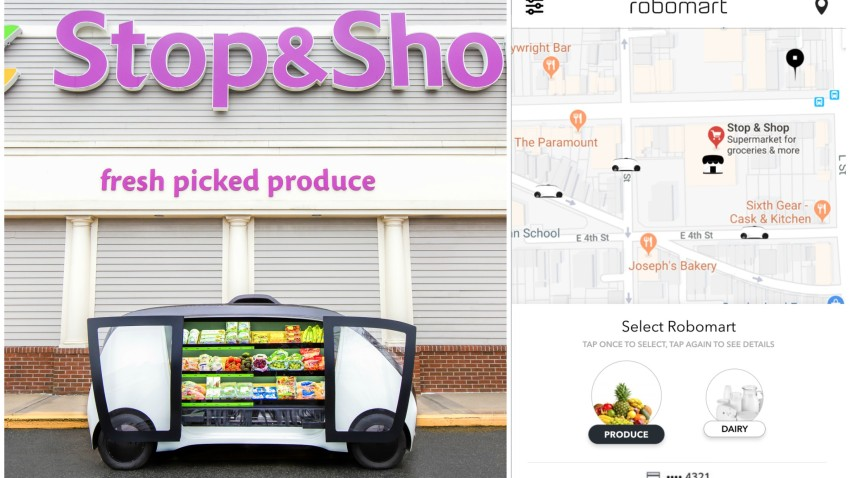 Stop and Shop Driverless Cars