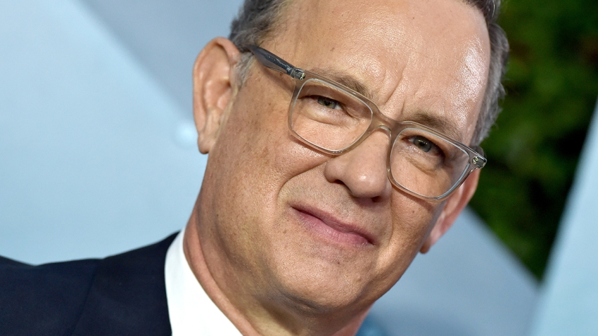 Tom Hanks attends the 26th Annual Screen Actors Guild Awards at The Shrine Auditorium on Jan. 19, 2020, in Los Angeles, Calif.