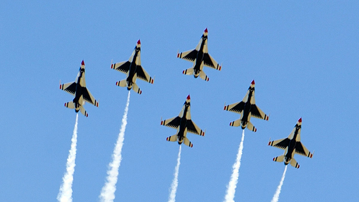 Thunderbirds to Lead Boston Flyover on July 4