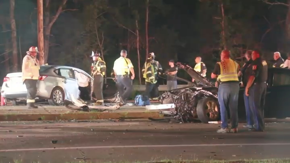 Fire Engine, 2 Cars Involved in Serious Crash in Wareham