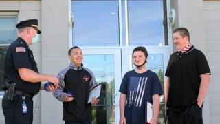 Whitman boys awarded