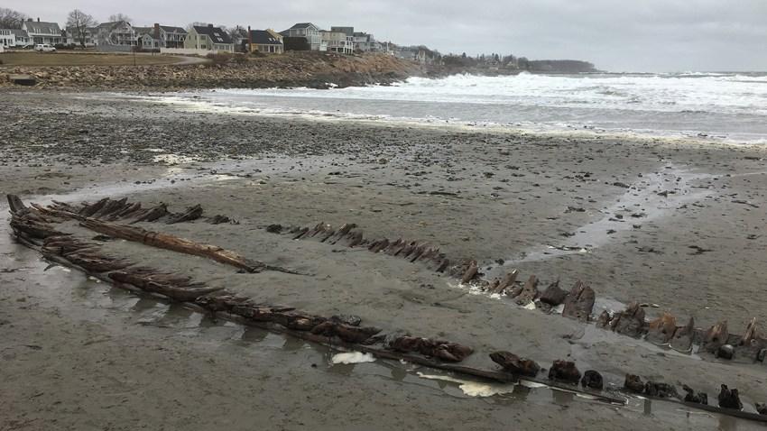 York Maine Shipwreck