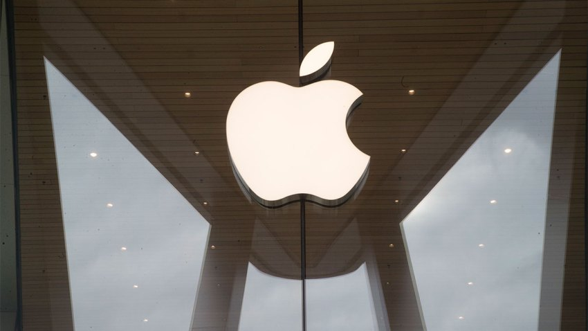 In this Jan. 3, 2019 file photo, the Apple logo is displayed at the Apple store in the Brooklyn borough of New York.