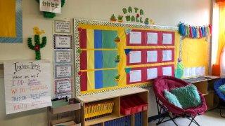 [UGCDFW-CJ-back to school]Cactus theme classroom