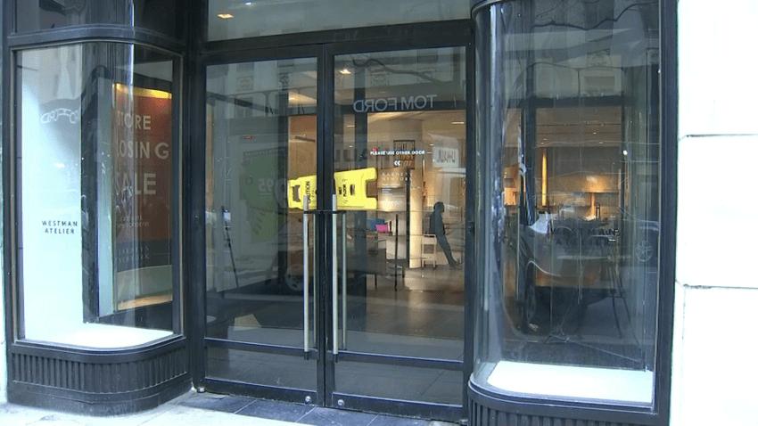 Barneys New York front doors