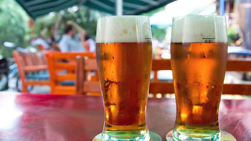 June 16 - beer gardens