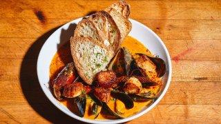 A Brassica Kitchen + Cafe dish.