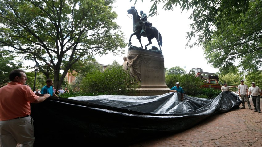 Charlottesville One Year Later Monuments