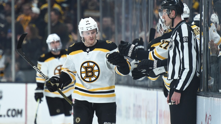 [NBC Sports] Bruins' Chris Wagner: Instagram jab at Kyrie 'wasn't anything malicious'