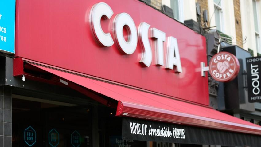 Britain Coca-Cola Costa Coffee