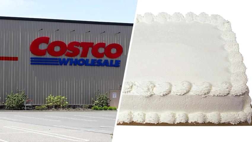Costco; Plain sheet cake