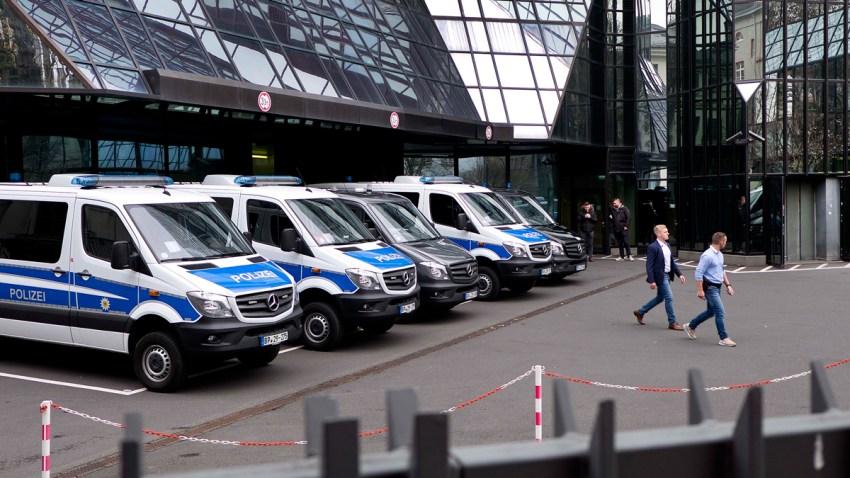 Germany Deutsche Bank Raid