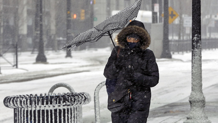 Hour-by-Hour Timeline of This Weekend's Snowstorm