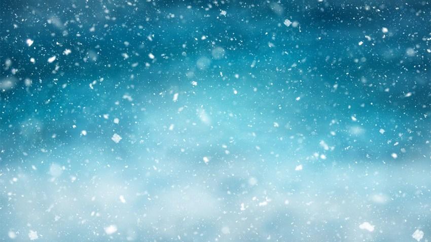 Photos of snowflakes.