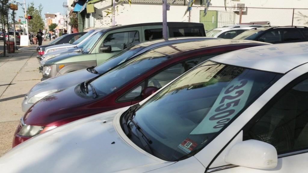 Used cars, file photo.