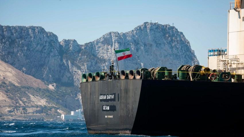 APTOPIX Gibraltar Persian Gulf TensionS