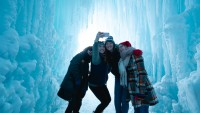 Ice Castles in NH Expected to Open Around New Year