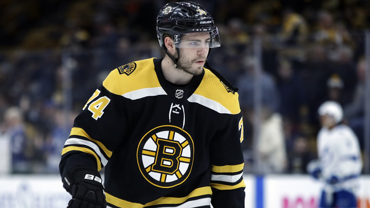 [NBC Sports] Bruins: Jake DeBrusk not practicing on Friday, David Backes re-enters lineup