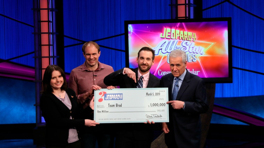 TV Jeopardy Team Champions