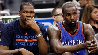 [CSNBY] Kendrick Perkins criticizes Warriors' treatment of Kevin Durant, Andre Iguodala