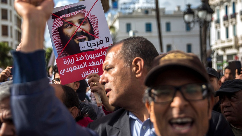 Tunisia Saudi Writer KIlled