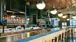 The bar at LongCross