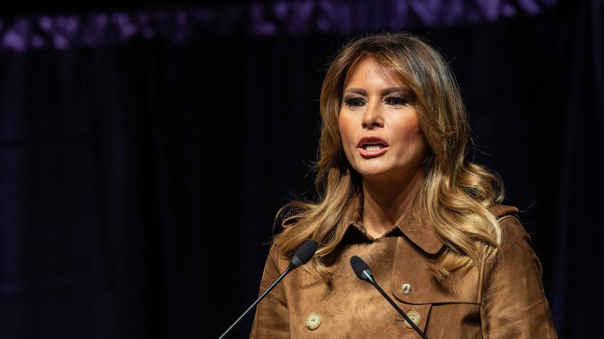 Melania Trump Taking Rose Garden Turn To Pitch Her Husband Nbc Boston