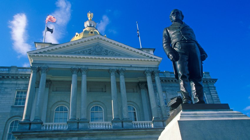 New Hampshire State House OTSstock