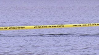 police tape water