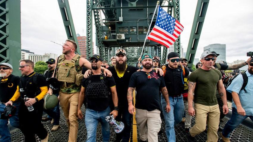 APTOPIX Portland Rallies