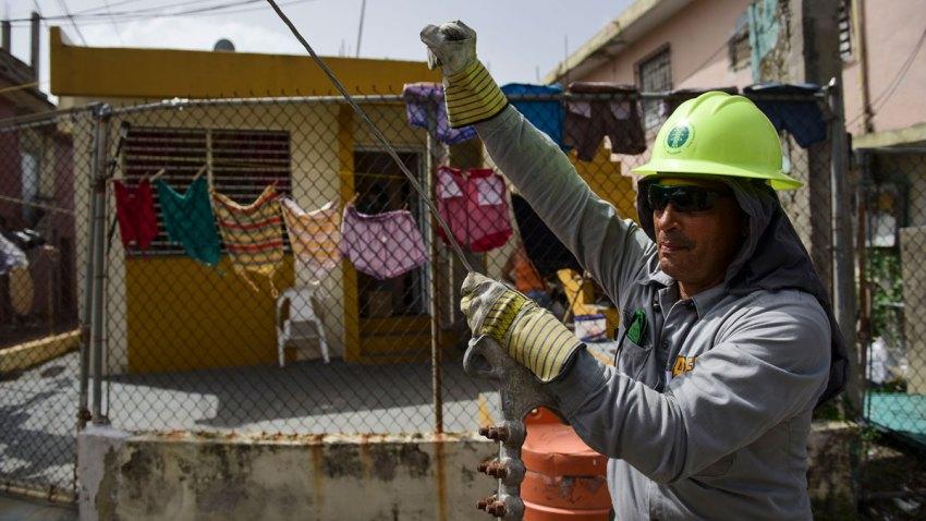 Puerto Rico Hurricane Maria Powering Puerto Rico