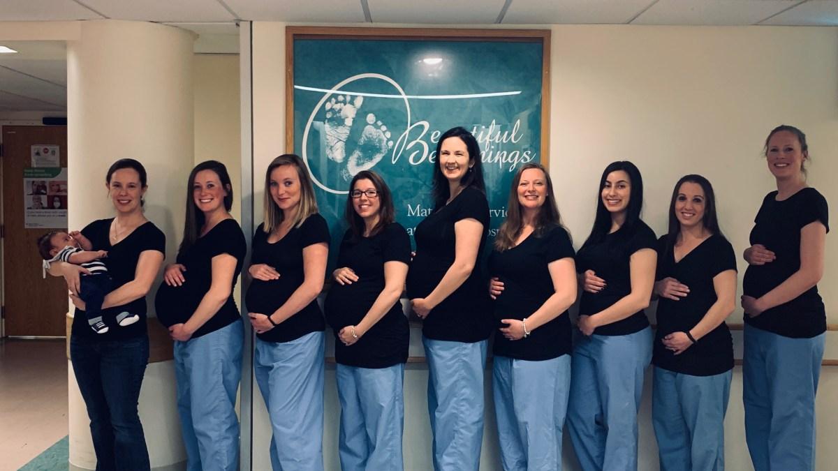 9 Nurses At Same Hospital Are Pregnant At The Same Time