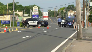 An elderly man was killed in a pedestrian accident in Quincy, Massachusetts.