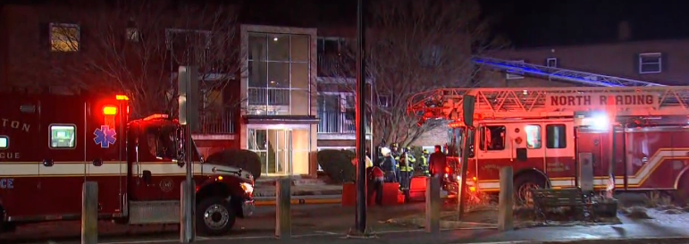 2 Suffer Life-Threatening Injuries in Reading Apartment Fire