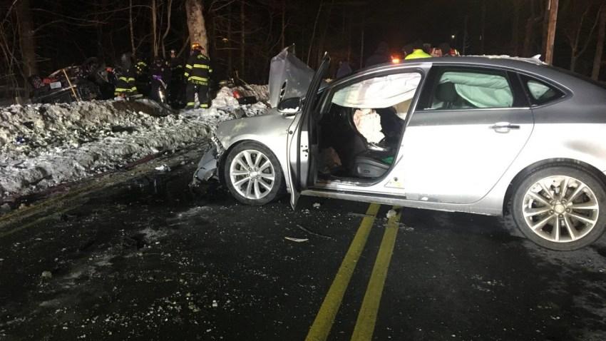 Sedan in Crash