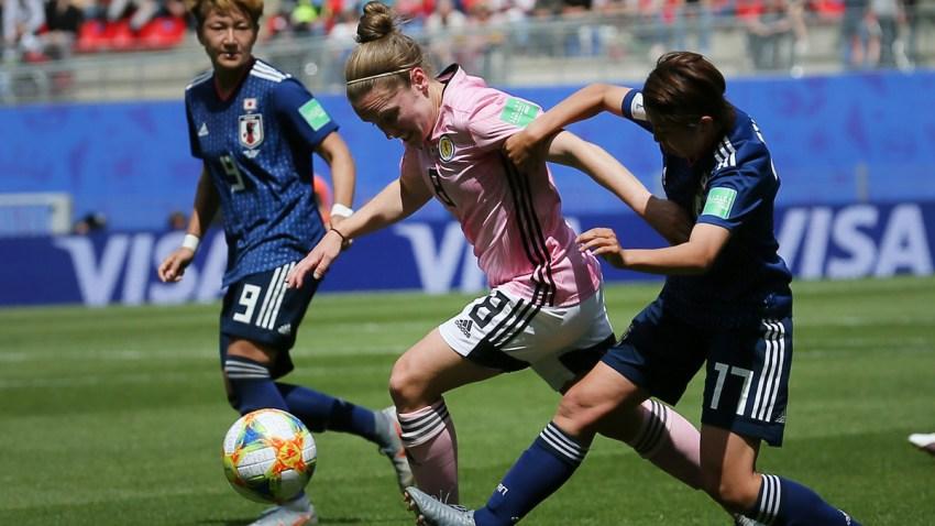 France Japan Scotland WWCup Soccer