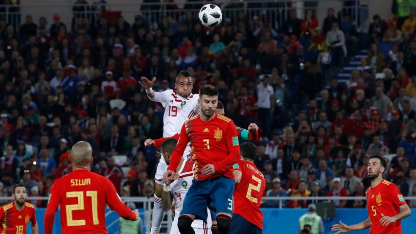 APTOPIX Russia Soccer WCup Spain Morocco
