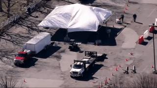 suffolk downs boston testing site