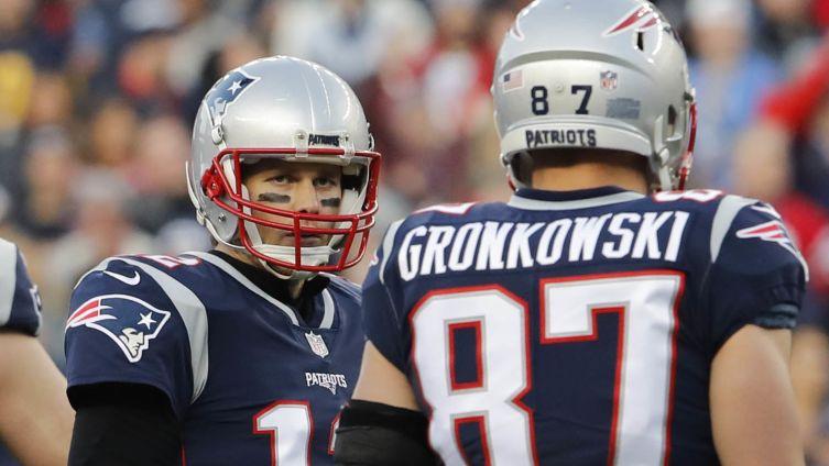 [NBC Sports] Patriots QB Tom Brady reacts to Rob Gronkowski's TV gig: 'He'll be good'