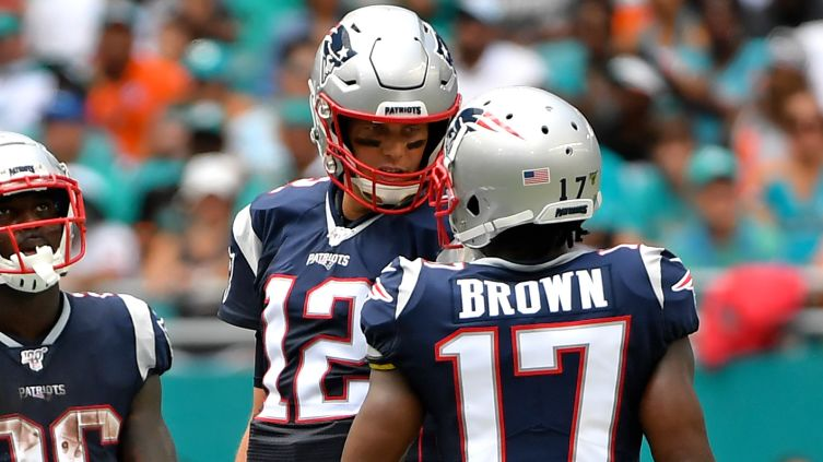 [NBC Sports] Tom Brady shouts out Antonio Brown on Instagram after strong Patriots debut