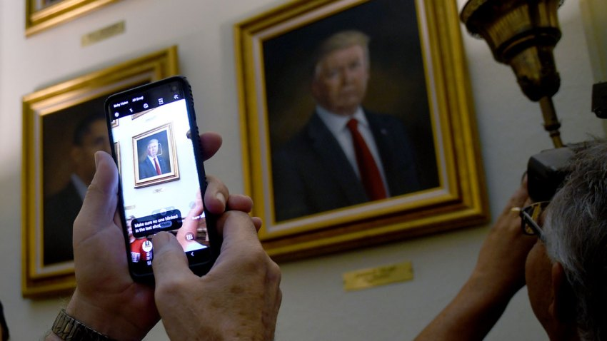 Trump Portrait-Colorado Capitol